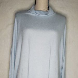 Lucky Brand Womens pullover sweater light blue SzL